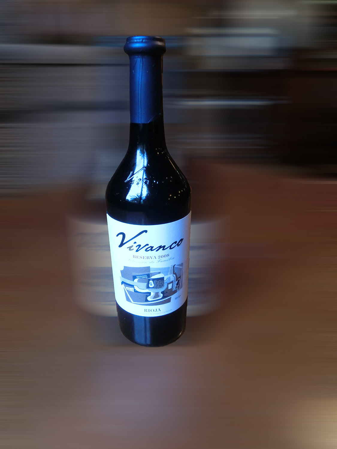 Vivanco Reserva. Rioja